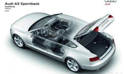 audi a5 sportback les prix de lancement et des photos de. Black Bedroom Furniture Sets. Home Design Ideas