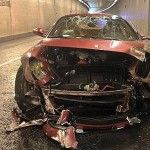 F 559 GTB de cristiano-ronaldo-apres-son-accident