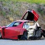 Ferrari Enzo_coupée en deux