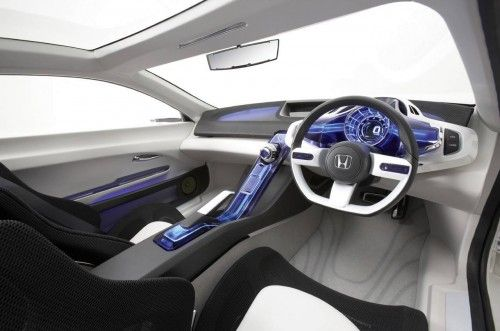 Honda CRZ interior