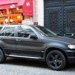 X5 noir mat