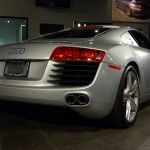 audi r8 evoms back