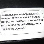 batcycle_ebay_plaque officielle n°2