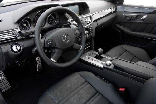 E 63 AMG interior