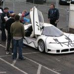 joss supercar on test