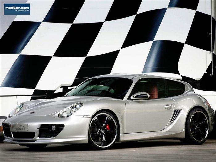 La Porsche Cayman Shooting Brake Fa 231 On Techart Pas Mal