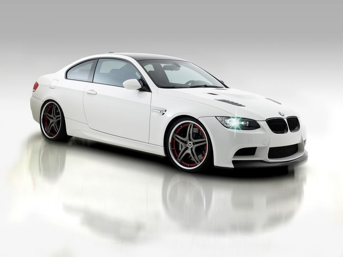 2009-Vorsteiner-GTS3-BMW-M3-Side-Angle-2