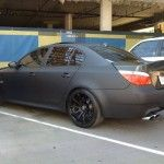 BMW-M5-Matte-Black-1