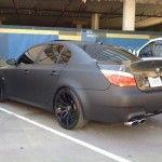 BMW-M5-Matte-Black-2