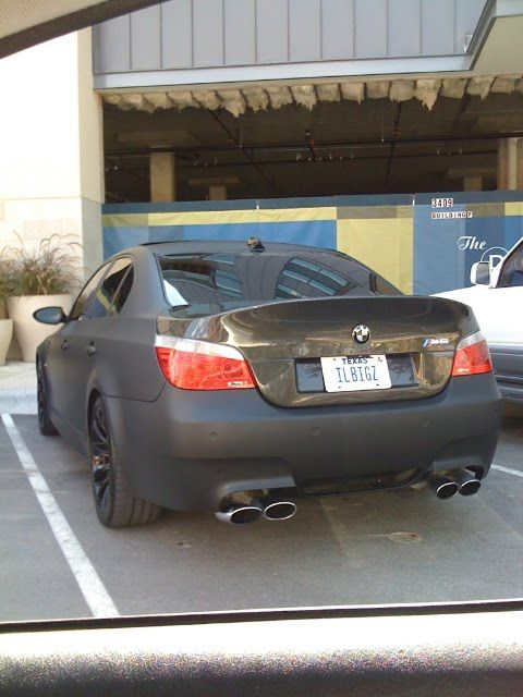 Bmw M5 Black On Black. Bmw+m5+lack+matte