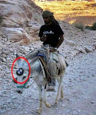 BMW, the Ultimate Donkey Machine...