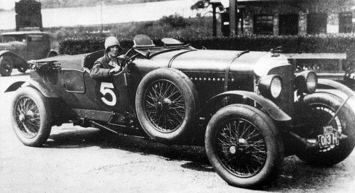 Bentley Brooklands 1929 Mrs Victor Bruce