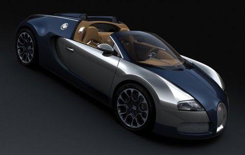 """Bugatti Veyron Grand Sport """"Sang Bleu"""""""