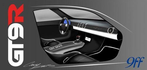 GT9-R-Interior
