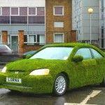 Honda civic Verte mais coupé