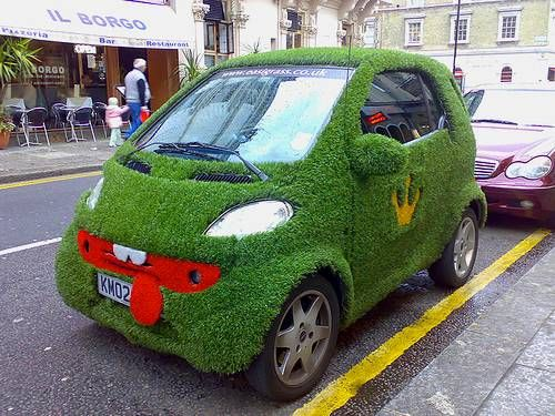 La Smart verte existe déjà