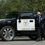 Le shériff et son H2