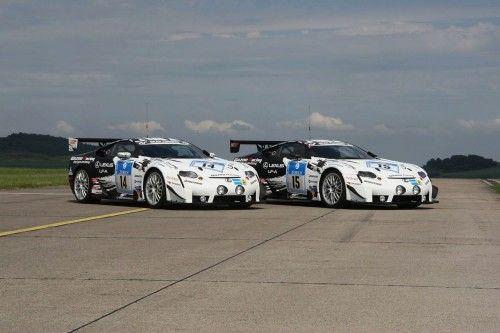 Lexus LF-A race car 2009 gazoo racing