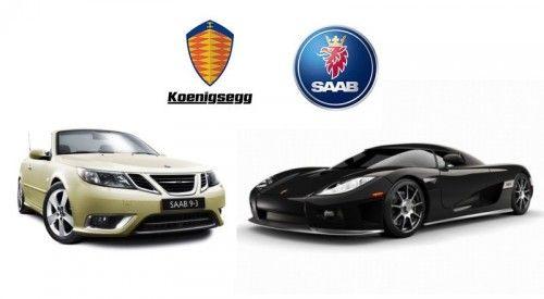 Logo saab et Koenisegg