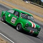 Mini Broadspeed on race