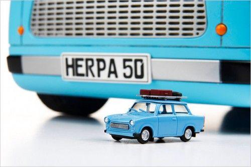 New Trabi et mini Trabant