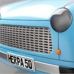 New trabi Front