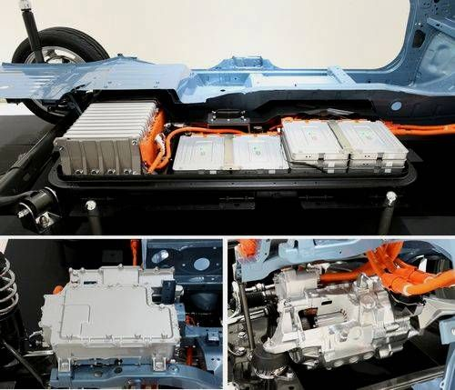 Nissan Leaf batteries et moteurs
