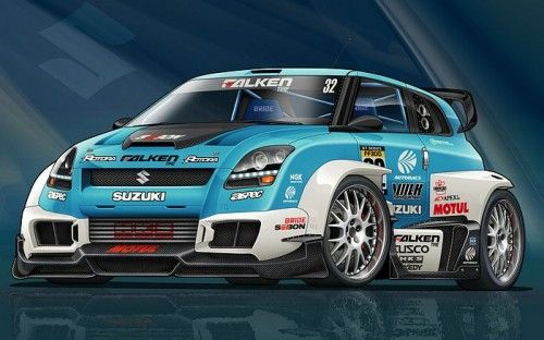 Suzuki Swift race car