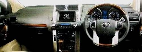 Toyota Prado-Land Cruiser 2010 dashboard