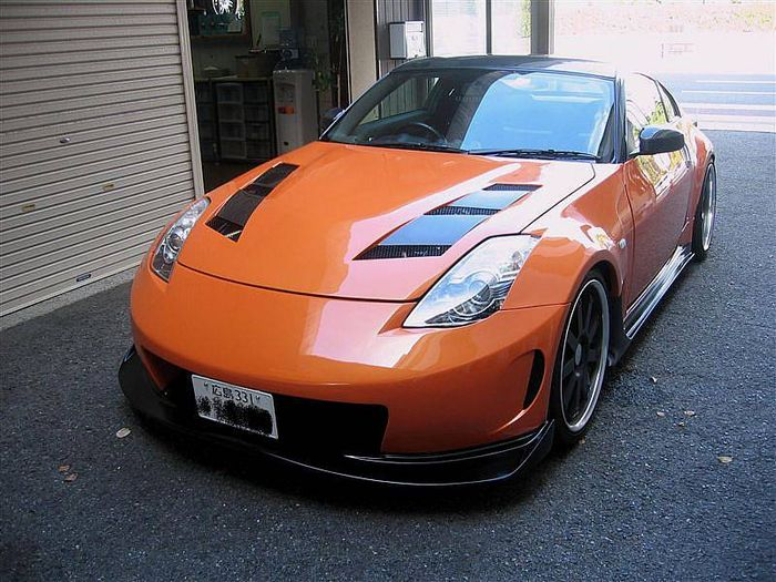 nissan 350z superleggera by amuse orange m canique blog automobile. Black Bedroom Furniture Sets. Home Design Ideas