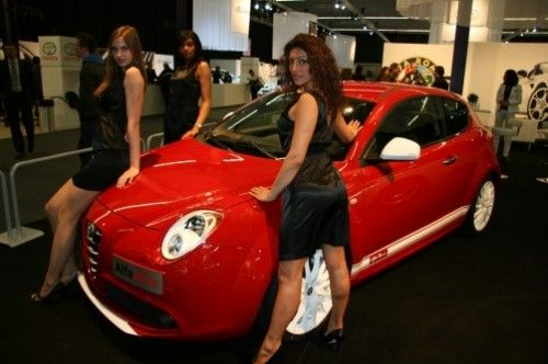 Alfa MiTo Veloce and girls