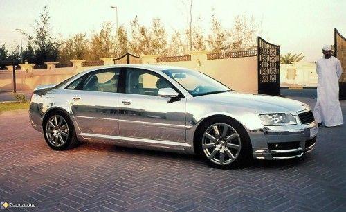 Audi A8 chromée