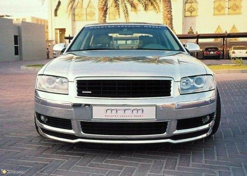 Audi A8 chromée.1