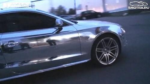 Audi S5 Chrome moscovite