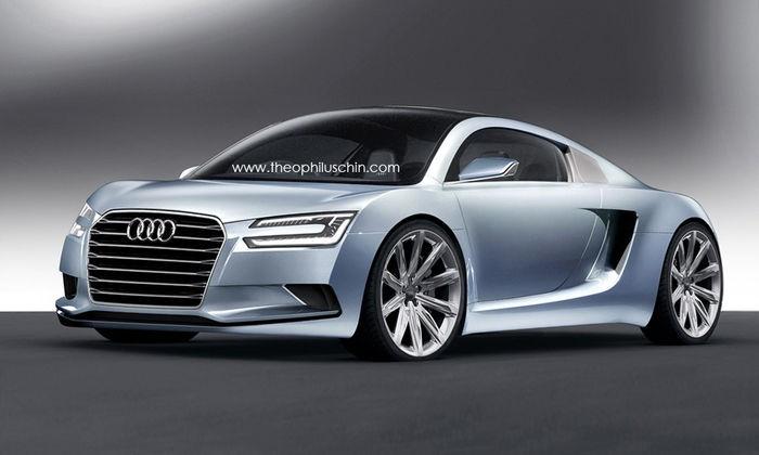 Audi e tron rendering