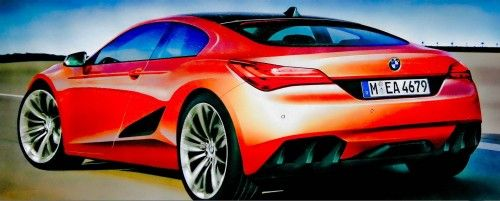 BMW Z10 Rendering rear