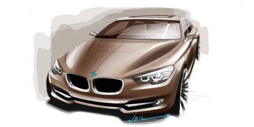 BMW serie5 GT sketch