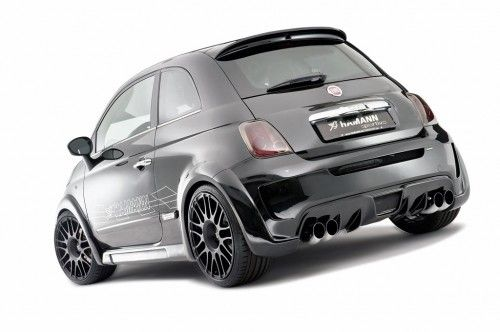 abarth 500 largo by hamann deux fois la puissance d 39 une abarth 500 en une seule auto blog. Black Bedroom Furniture Sets. Home Design Ideas