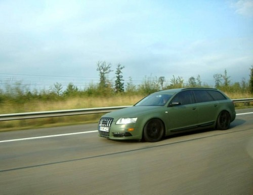 L'Audi A6 de Shrek.2