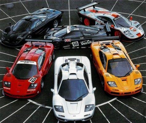 McLaren-F1-Family
