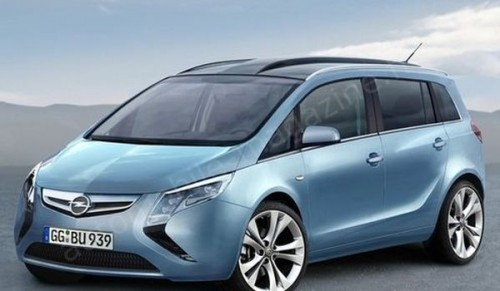 Preview Opel Zafira3 2011-2012