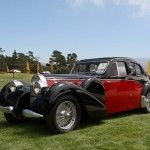 bugatti type 57 Galibier modèle 1939 à Pebble beach