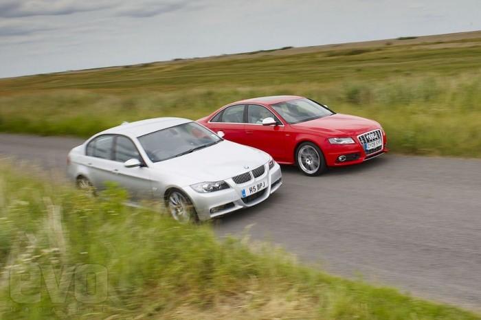 BMW 335i vs Audi S4