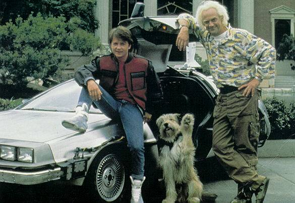 Doc, Marty, Einstein et la DMC 12