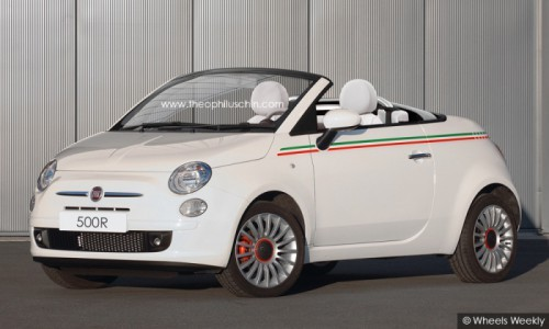 Fiat 500 roadster by T.Chin
