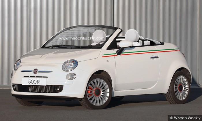 Fiat 500 roadster by T