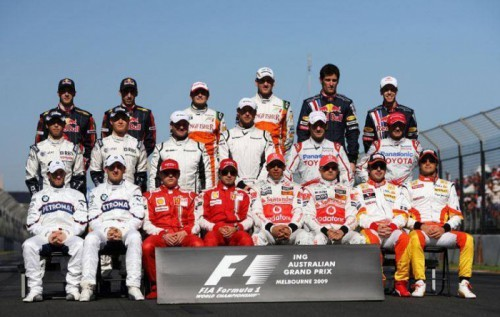 Photo-de-groupes-pilotes-F1-2009