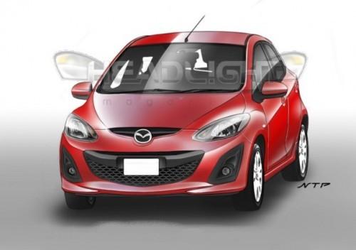 Preview Mazda2 2010 Headlight.com.