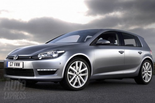 VW golf7 2012 preview.1