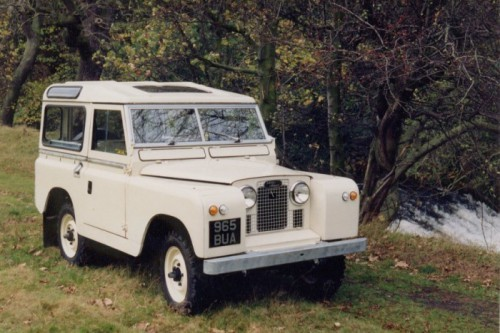 land rover Series_II
